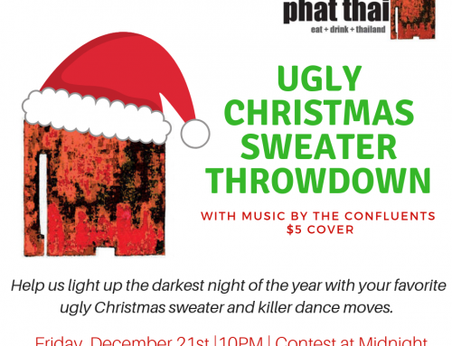 Ugly Christmas Sweater Throwdown with the Confluents: 12.21.18